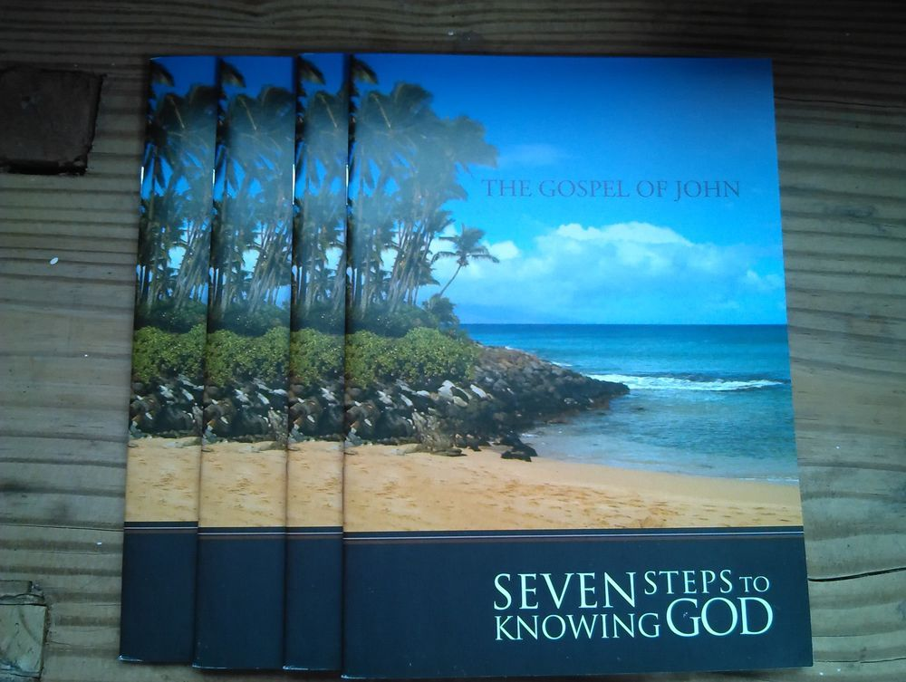 Gospel+of+John+Seven+Steps+To+Knowing+God+