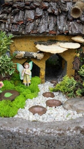 Fairy Garden - Davis Farm Garden Art,  Antiques, and Botanicals