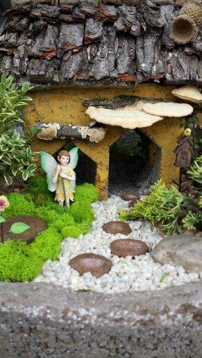 Fairy Garden - Davis Farm Garden Art,  Antiques, and Botanicals