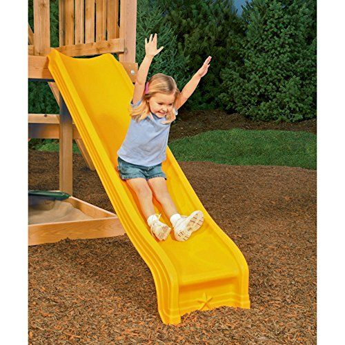 Playstar Scoop Slide, 2015 Amazon Top Rated Play Sets & Playground Equipment #Toy