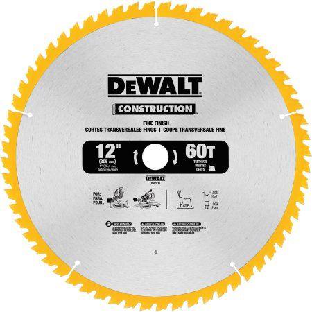 Dewalt Construction Saw Blade 12 1 0 Ct Walmart Com Circular Saw Blades Dewalt Saw Blade