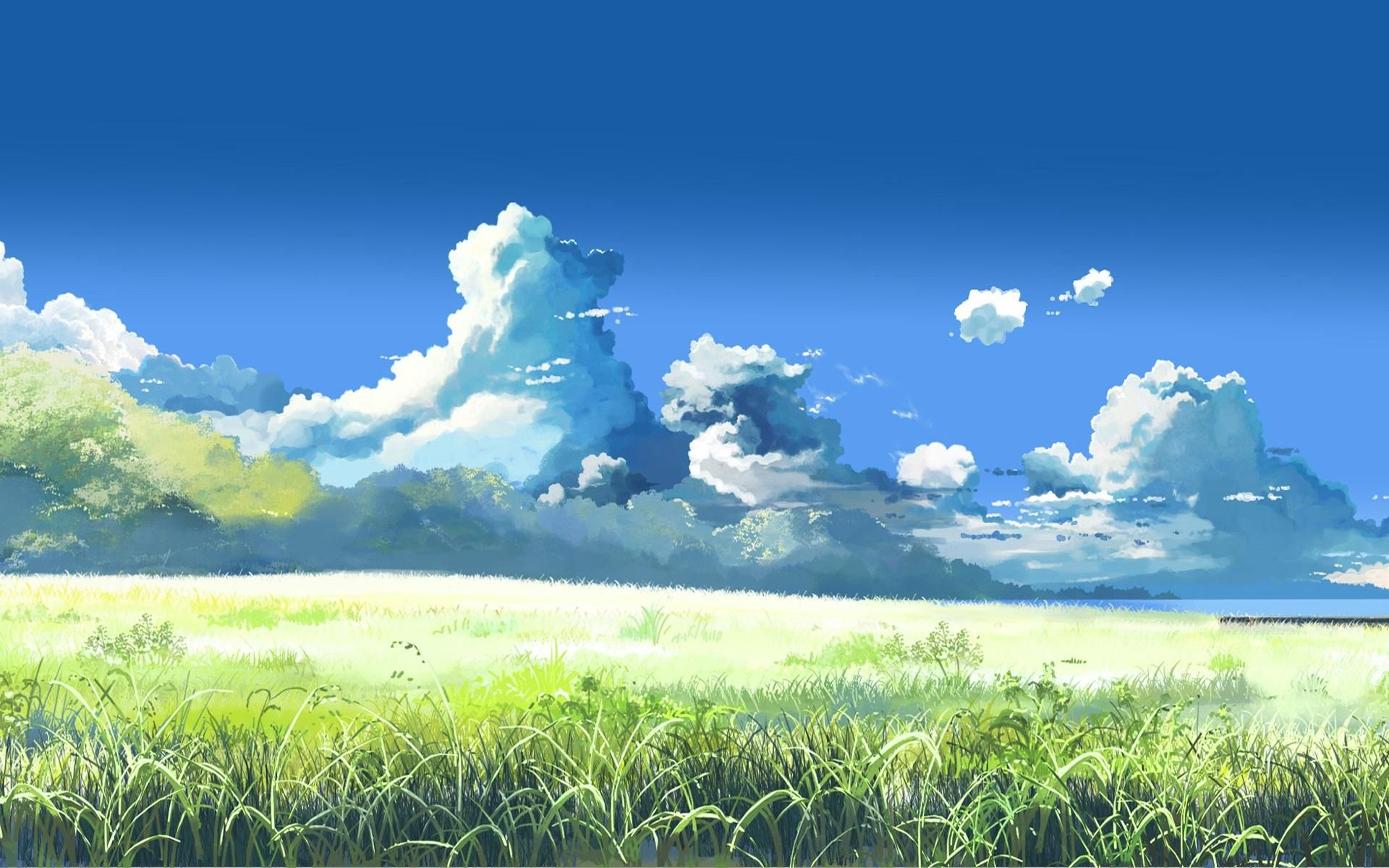 Anime landscape 1920x1200. Wallpapers Pinterest