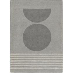 benuta Wollteppich Bent Grau 200x300 cm - Naturfaserteppich aus Wolle benuta #texturespatterns