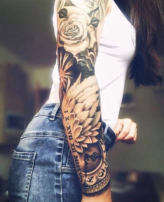 50 Perfect Tattoo Sleeves That Are Super Gorgeous - Page 7 of 46 - VimDecor