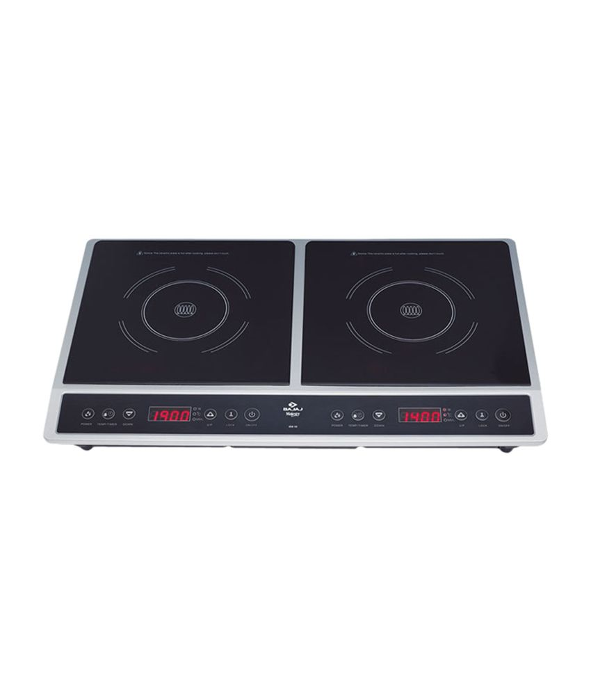 Bach Knob Induction Cooktop- Bach Induction Cooktop's stunning ...