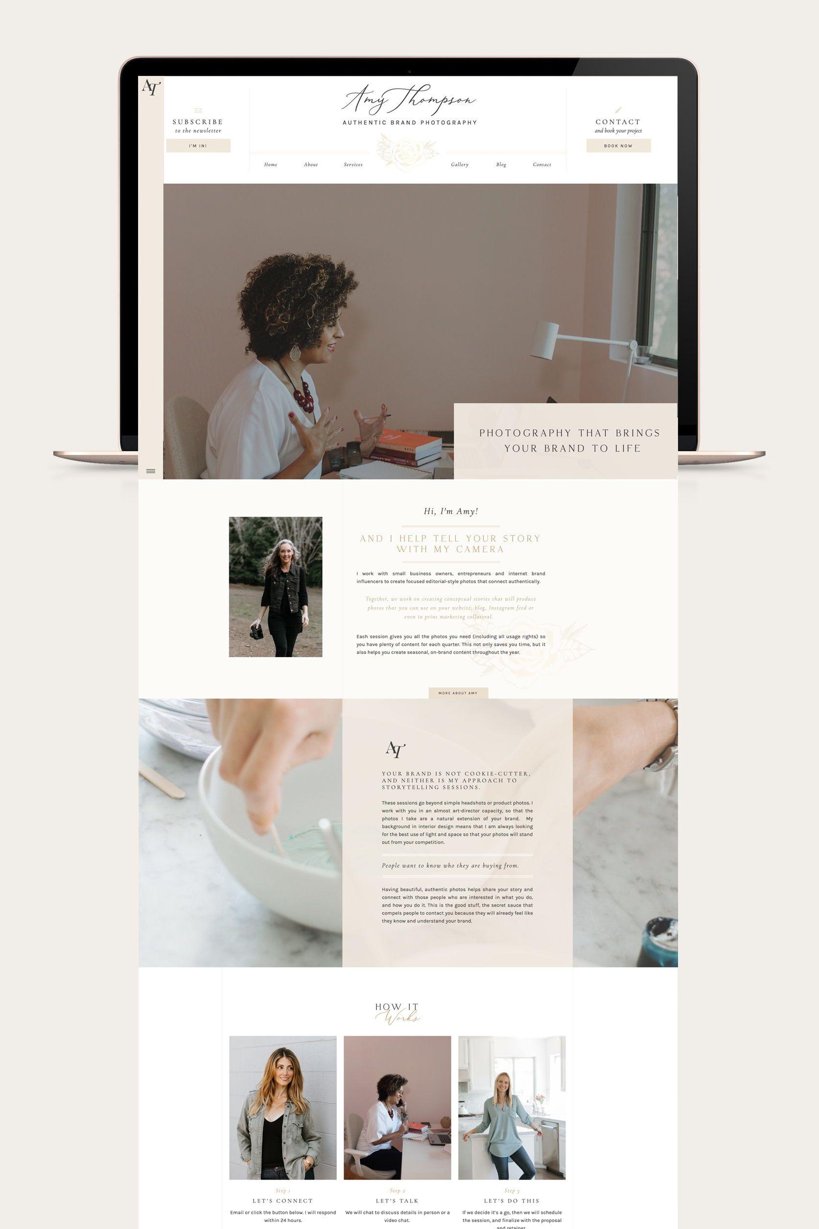 Website Design By Viva La Violet In 2020 Website Design Layout Web Design Branding Website Design