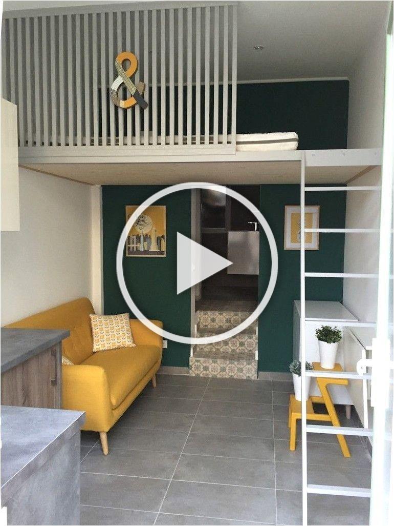 Deco Chambre Garcon 20 Ans Avec Lit Mezzanine in 20  Diy room