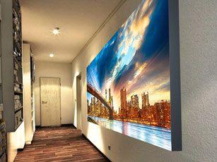 wandbild leuchtbild leuchtkasten leuchtdisplay. Black Bedroom Furniture Sets. Home Design Ideas