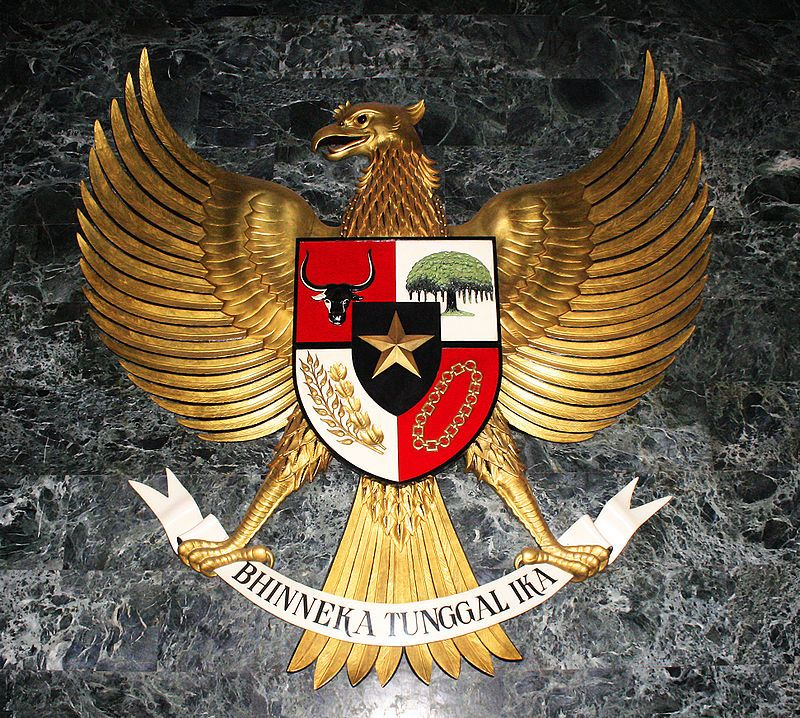 Garuda Pancasila User Gunkarta Wikimedia Commons Indonesian Art Coat Of Arms Logo Collection Garuda wallpaper hd for android