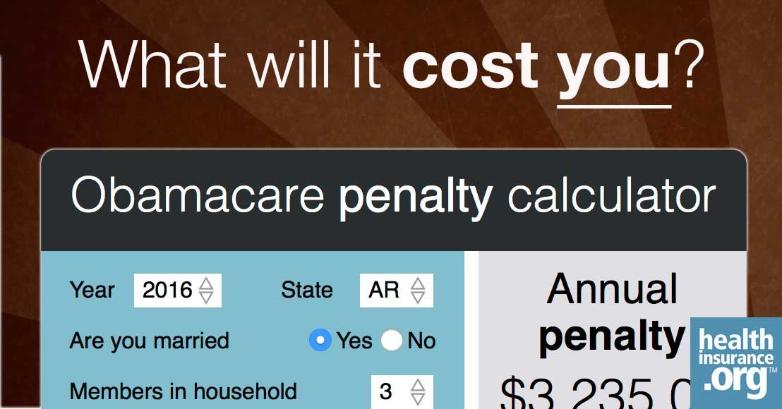 Will You Owe A Penalty Under Obamacare Obamacare Health