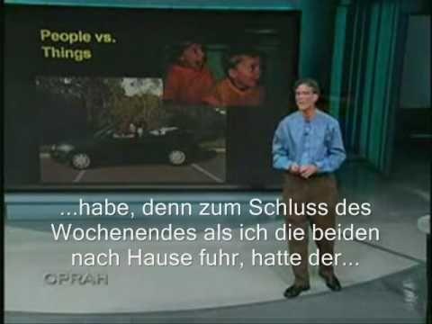Dr Randy Pausch The Last Lecture Deutsche Untertitel Dt Youtube Nach Hause Fahren Fahren