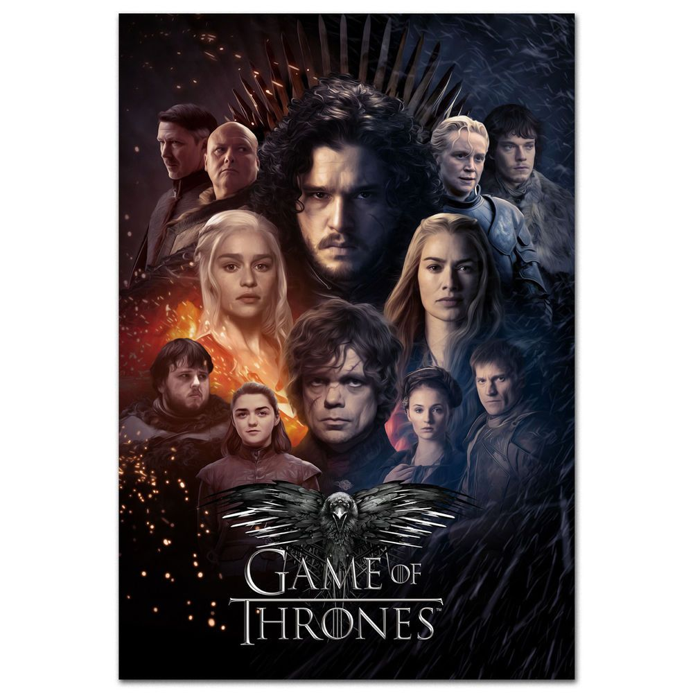 Game of Thrones Cast Photograph Print