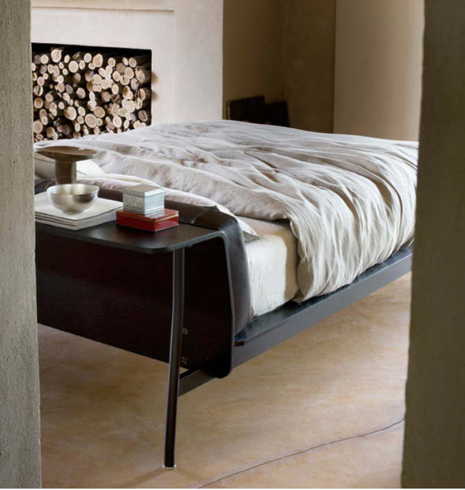 Buy The Cassina L41 Sled Bed At Nest Co Uk Bed Cushion