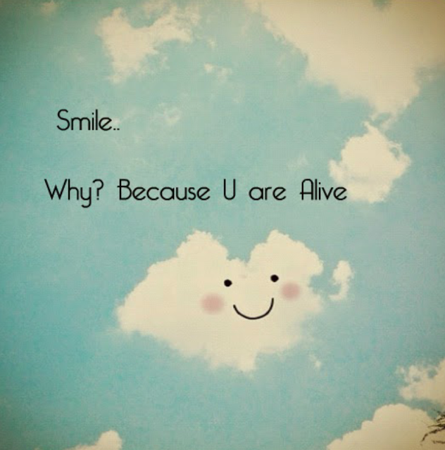 Smile life quotes quotes quote clouds happy smile life quote