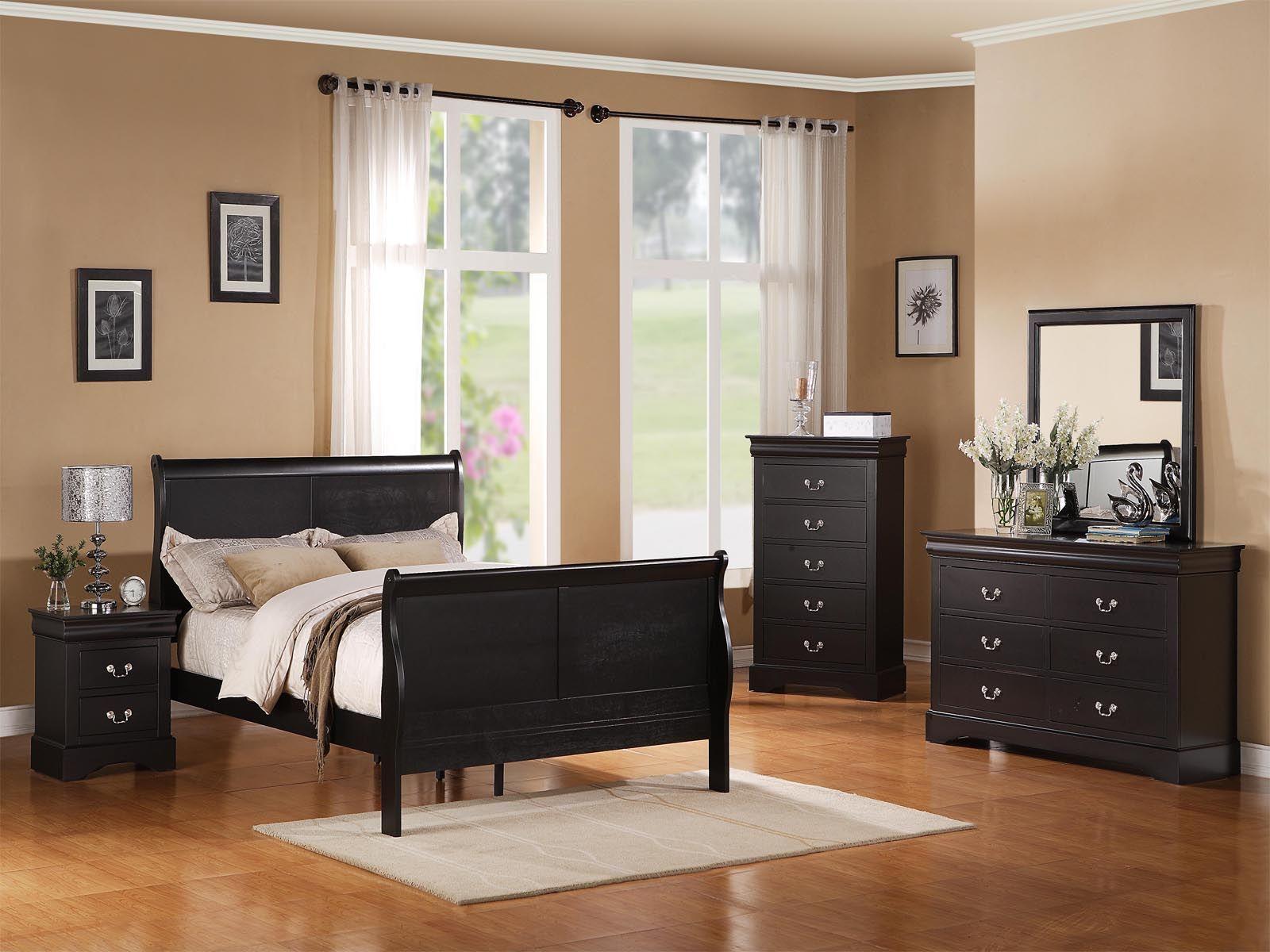 Schwarz Schlafzimmer Sets Moderne Schlafzimmermobel