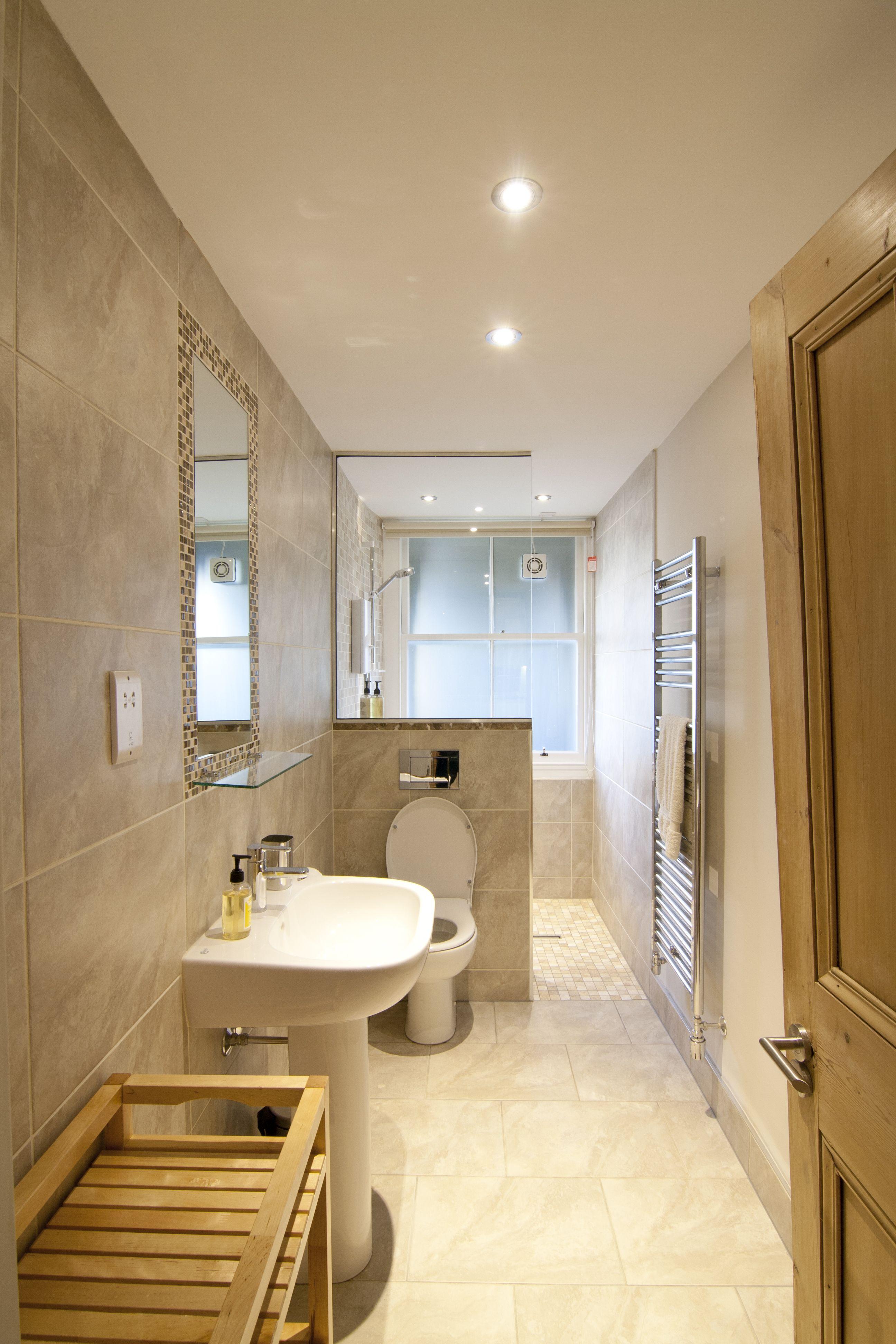 Bathroom, Edinburgh  Small narrow bathroom, Long narrow bathroom
