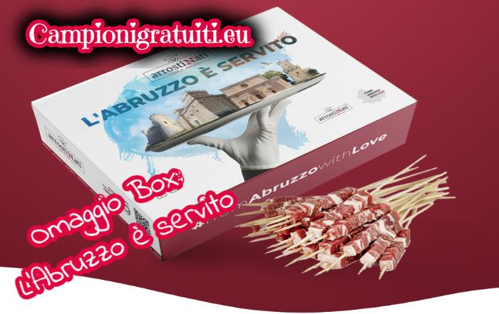 """Campione gratuito Box """"L'Abruzzo è servito"""" offerto da ArrostiNati"""