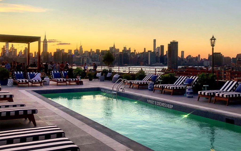 6 Swanky Hotel Pools Near Nyc Worth The Overnight Hotel Pool