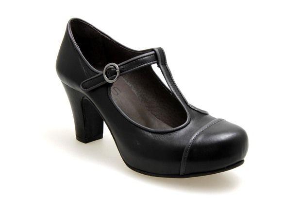 01c1ef25f2 Trotteurs VIRUS MODA 24222 Noir   Gris - Chaussures femme