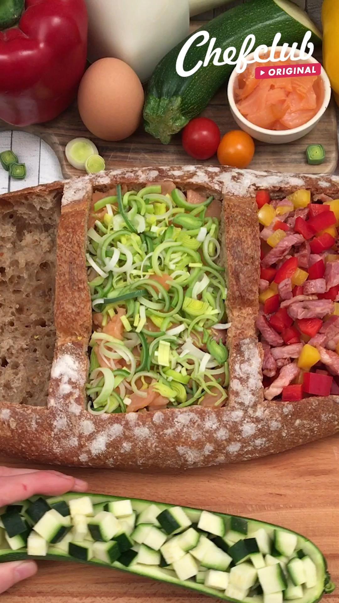 Frühstück und Mittag in einem. Geht schnell, begeistert alle 😍 Und gesund auch noch dazu! Mehr Rezepte und Inspiration aufchefclub.tv/de