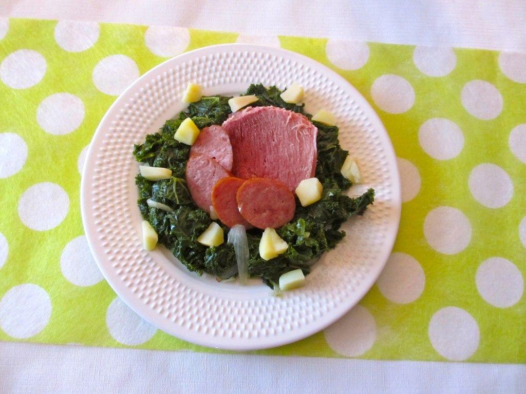 Potée de chou kale : Diet & Délices - Recettes dietétiques #poteechouvert