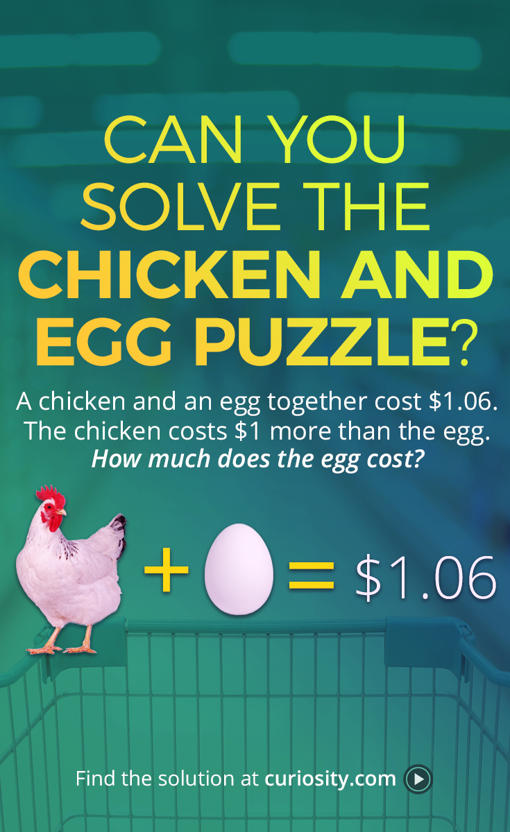 The Deceptively Tricky Chicken And Egg Puzzle