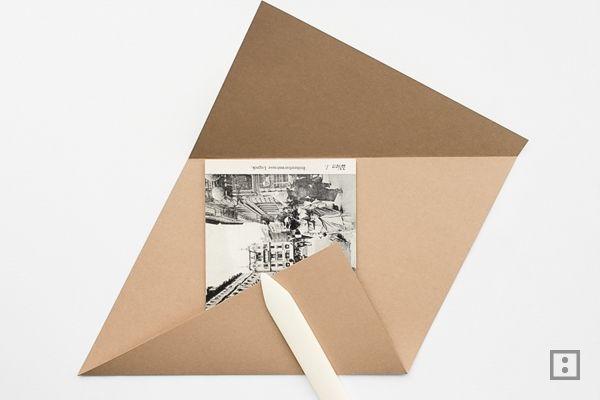 Briefumschlag Aus Din A4 Diy Ii Origami Envelope Origami Und