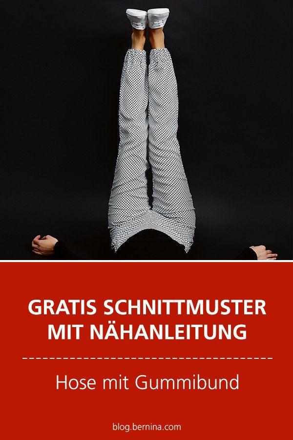 Photo of Hose mit Gummibund nähen in den Grössen 34 bis 46
