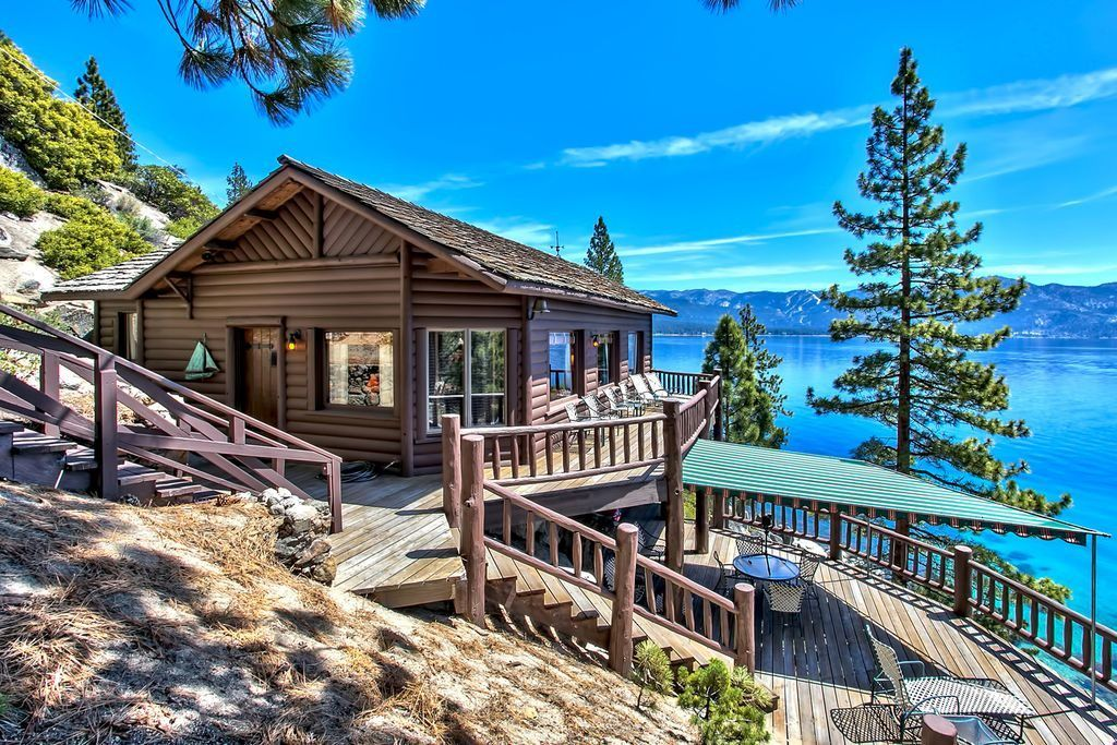 8 Of The Most Stunning Log Cabin Homes In America Log Cabin Homes Cabin Homes Tahoe Cabin