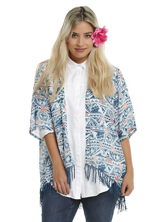 3e24ebe5501 Moana Blue Kimono Plus Size