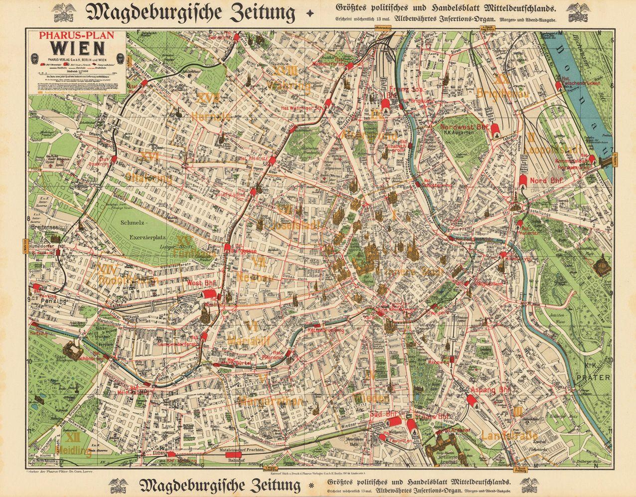 Pharus verlag 1910 vienna austria maps of the world pinterest pharus verlag 1910 vienna austria gumiabroncs Gallery