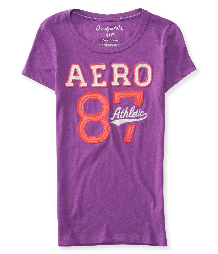 Aero 87 Athletic Graphic T - Aeropostale