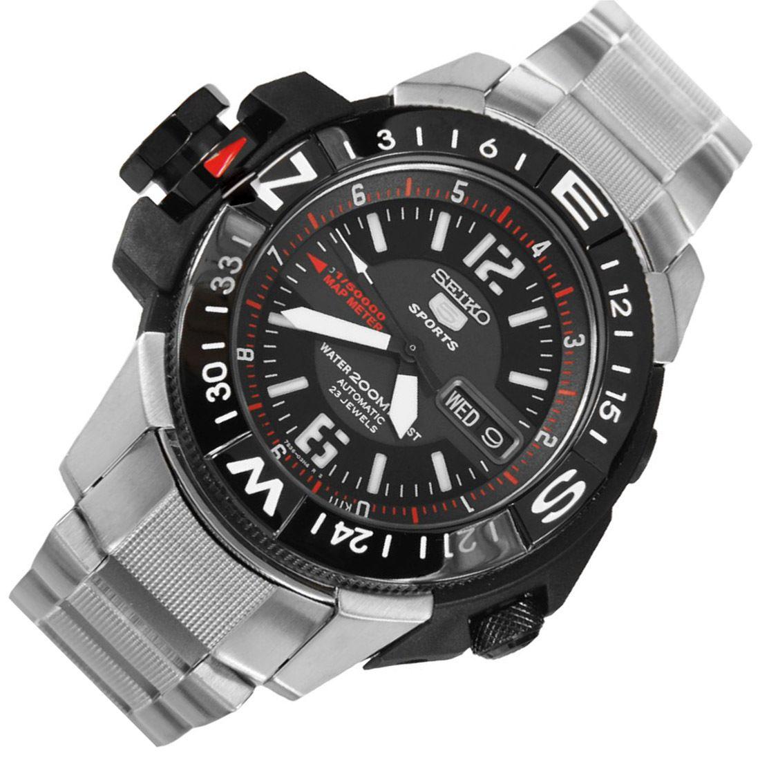 Seiko Automatic Map Meter Watch Skz229k1 Skz229k Skz229 In 2018 Bulova 90271 Jam Tangan Pria Silver A Watchescom 22800