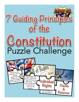 Guiding Principles of the Constitution Puzzle Challenge   Students ...