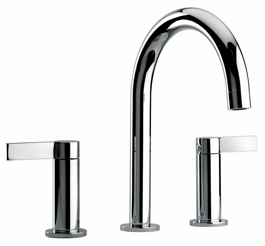 $299.17 Two Lever Handle Widespread Lavatory Faucet with Classic ...