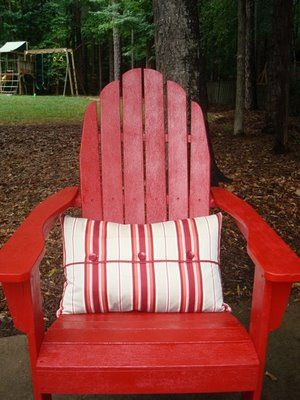 Think Iu0027ll Repaint My Plastic Adirondack Chairs ...