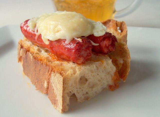 Una pincelada en la cocina: pincho de huevo de codorniz con chistorra