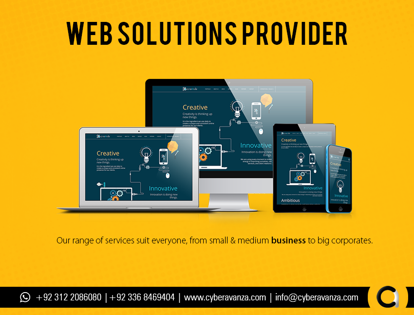 Cyber Avanza Is A Leading Web Design Company In Pakistan Dedicated To Developed Bespoken Intuitive Web Web Design Company Digital Strategy Mobile Development