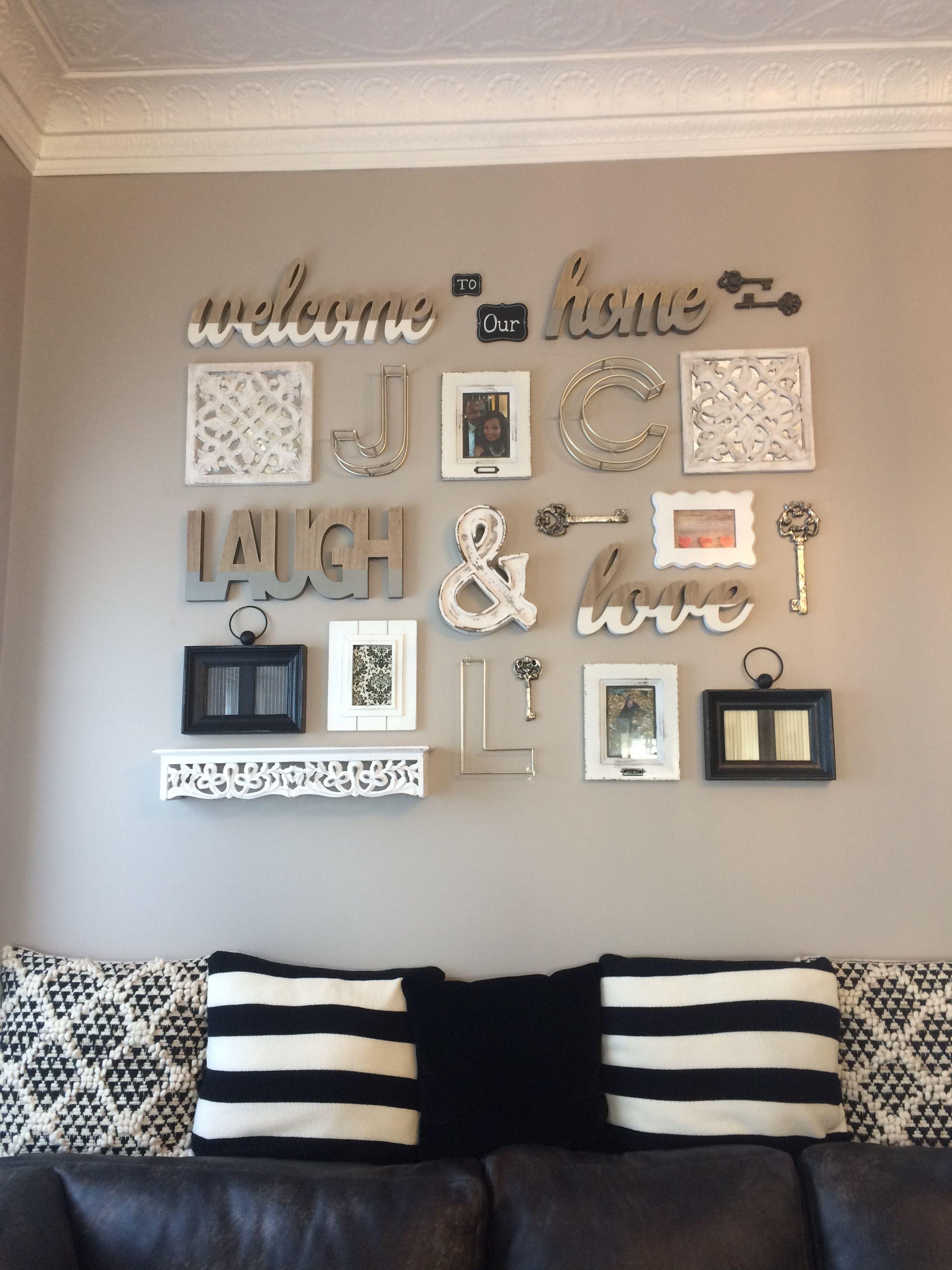 Pasate Por Mi Perfil Para Sorprenderte Con Un Sinfin De Pines Como Este Farmhouse Wall Decor Wall Decor Living Room Room Wall Decor