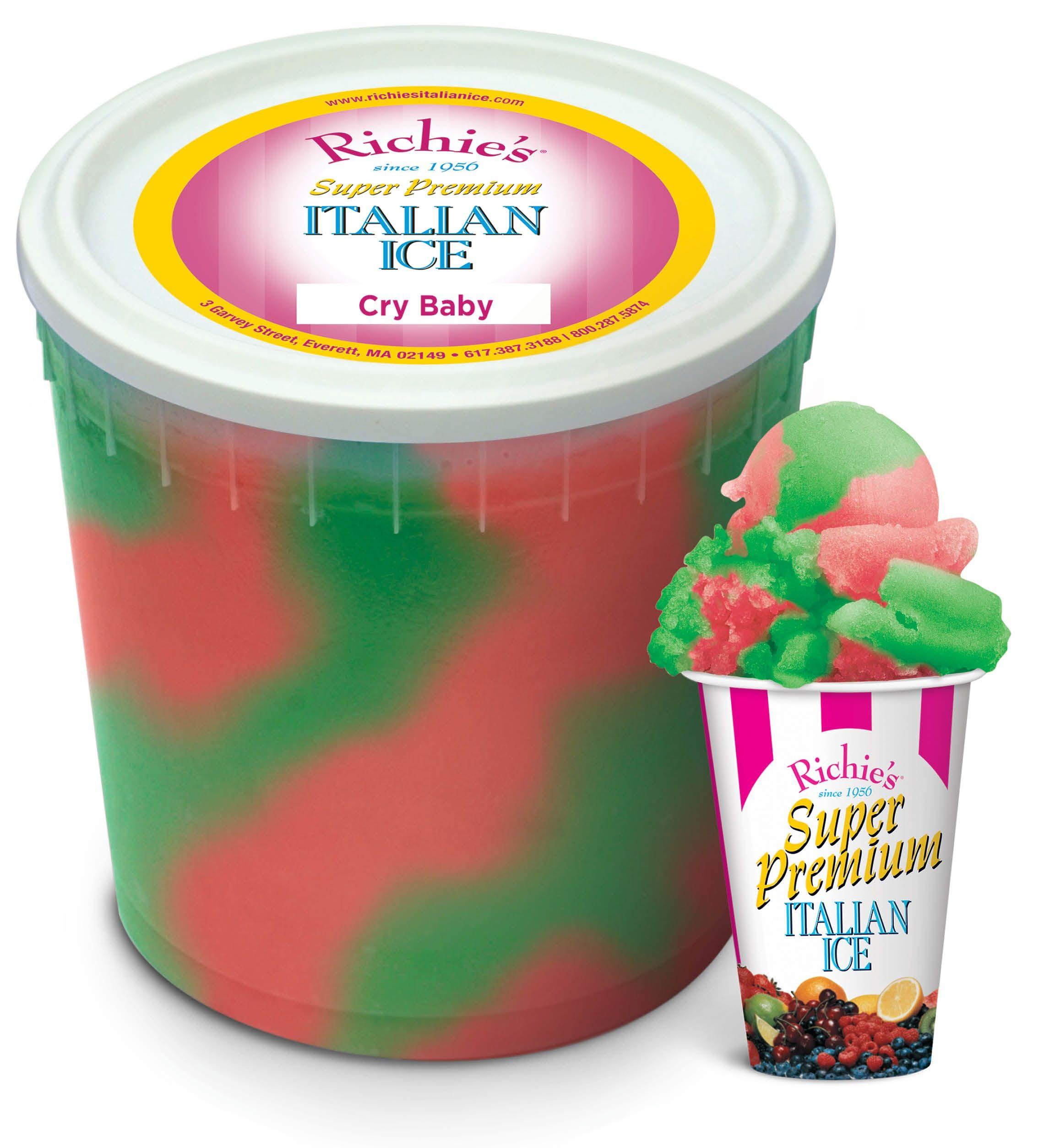 Cry Baby Sour Rainbow Ben And Jerrys Ice Cream Ice Cream Food