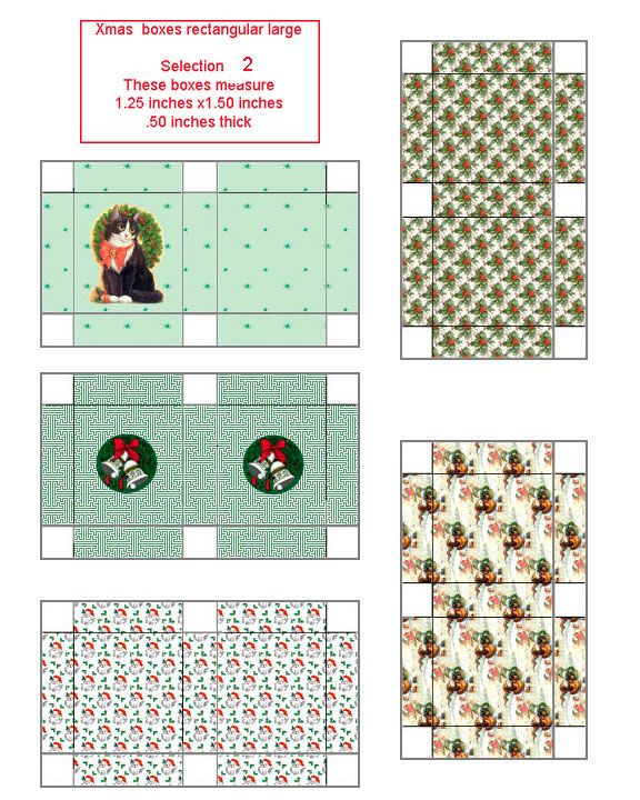 Xmas selection rectangular box large02.jpg 576×720 pixels