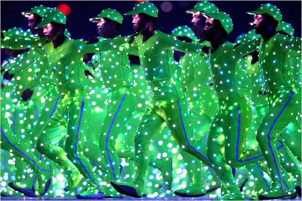 led costumes at the 2012 olympics magical hope to see more of this - Halloween Led Costume