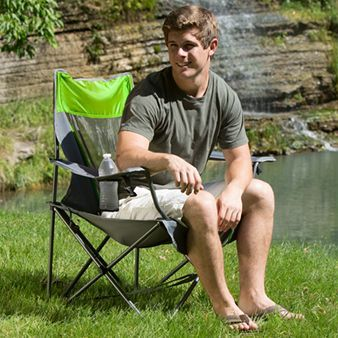 Amazon.com : Kelsyus Recline Backpack Beach Chair with UV Canopy : Sports  Fan Canopies : Sports & Outdoors