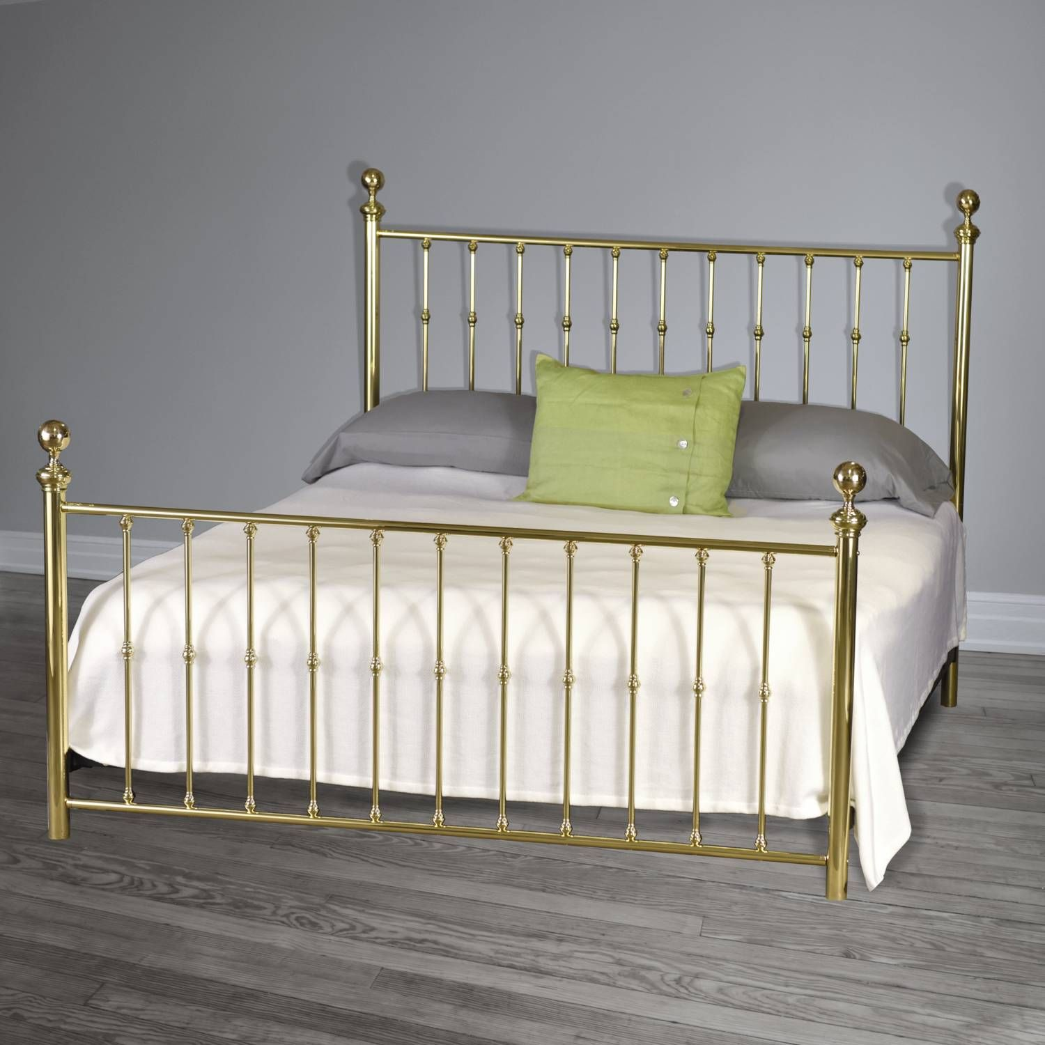 King Size Brass Bed Also Comes In California King Queen Full