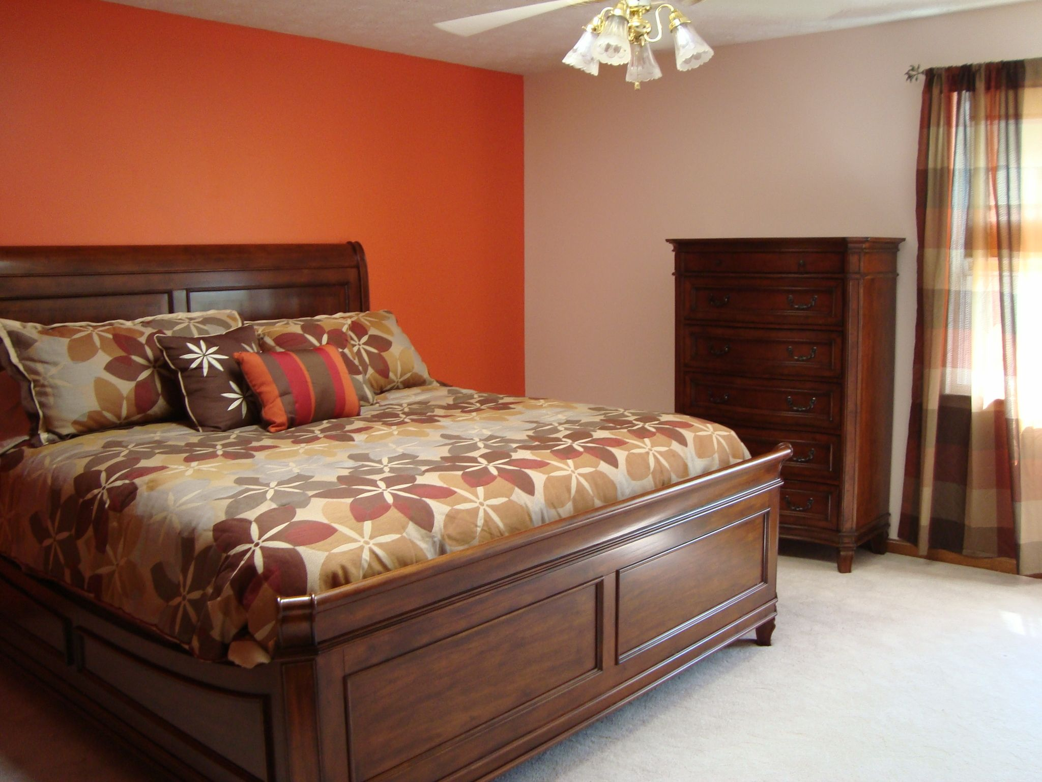wall colors are wet coral and victorian pearl behr on home depot paint colors interior id=43914