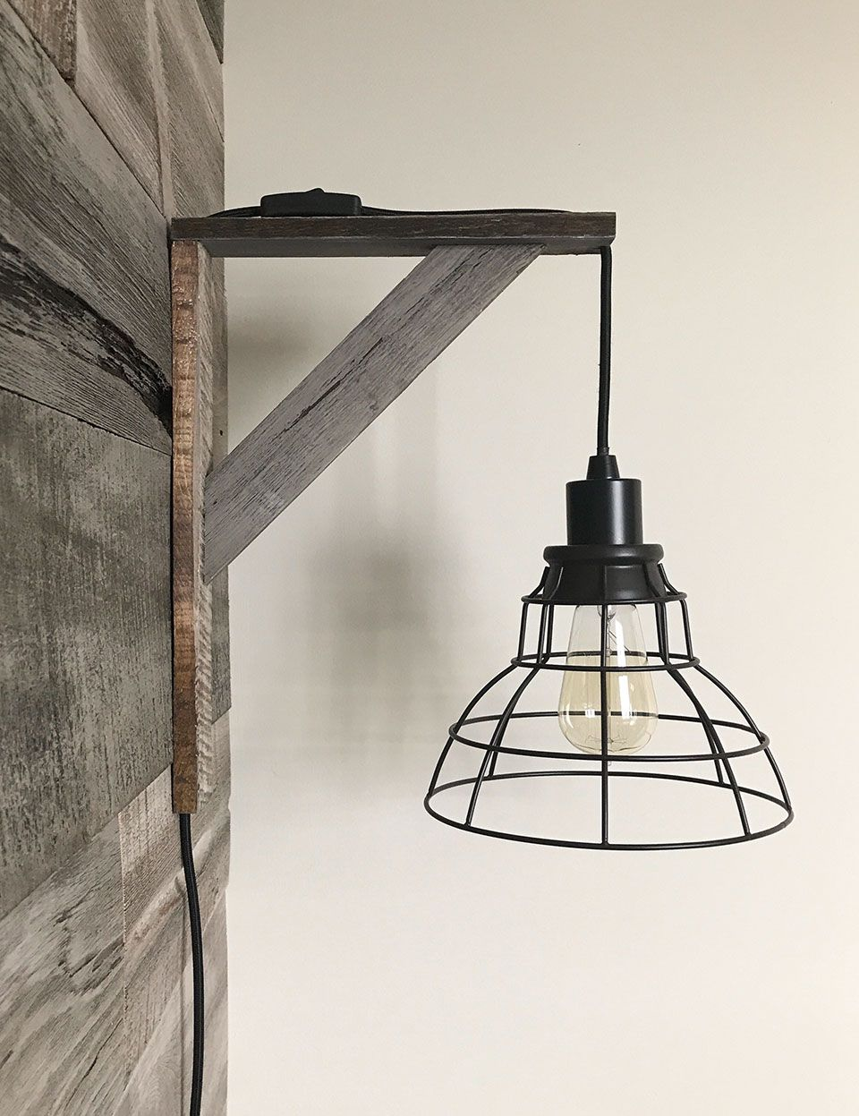 Photo of Before and After: Basement Bedroom Gets A Rustic Industrial Makeover – Schneiderman's {the blog} | Design and Decorating