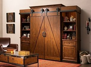 Opening in 1947, raymour & flanigan furniture sells homewares across the nation. McGraw 5-pc. Entertainment Center   Interior barn doors ...