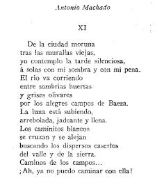 Este Poema Muestra Uno De Los Signos Más Característicos De