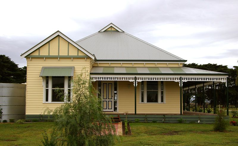 Harkaway Homes Gabled Victorian Not This Colour Scheme
