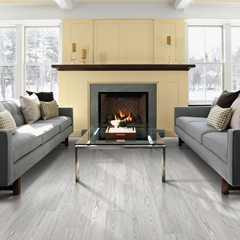 A Neutral Gray Floor Like Pergo Max Willow Lake Pine Will Make Any